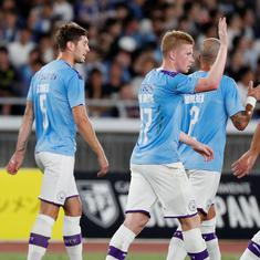 Man City beat Yokohama Marinos in pre-season friendly, Barcelona trump Iniesta's Vissel Kobe