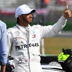 It feels a lot longer: Lewis Hamilton after ending nine-race drought to take pole in Abu Dhabi