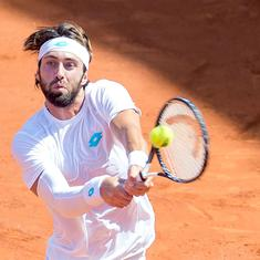 Hamburg Open: Defending champ Basilashvili overcomes Zverev to set up final with Rublev