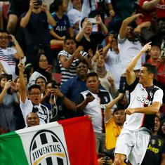 Angry Korean fans sue sports agency as Juventus don't field Ronaldo during friendly in Seoul