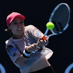 Mattek-Sands fights back to beat Venus Williams for first singles win in more than a year