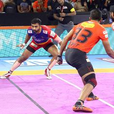 Pro Kabaddi: Jaipur Pink Panthers crush Haryana Steelers, UP Yoddha claim first win of the season
