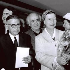 How to party like existentialist philosophers Simone de Beauvoir and Jean-Paul Sartre