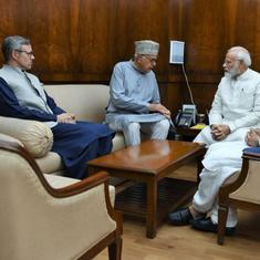 National Conference leaders meet PM Modi, ask him to conduct elections in J&K by year-end