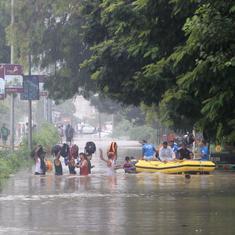 Vadodara: Water level of Vishwamitri river recedes, six killed in rain-related incidents so far