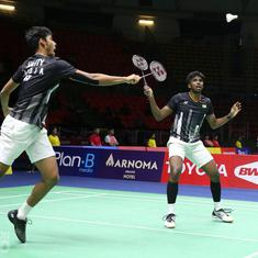 China Open men's doubles semi-final as it happened: Satwiksairaj-Chirag Shetty ousted by top seeds
