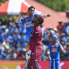 West Indies vs India: Navdeep Saini shines on debut as visitors win low-scoring opening T20I