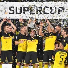 Football: Borussia Dortmund beat Bayern Munich 2-0 to win Super Cup title