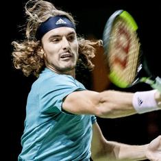 Tennis: Stefanos Tsitsipas breaks into top 5, Nick Kyrgios biggest climber in latest ATP rankings