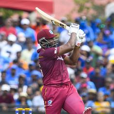 West Indies vs India: Kieron Pollard fined, handed demerit point for disobeying umpire in 2nd T20I