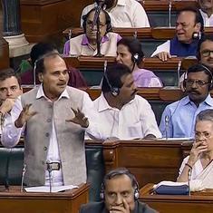 Congress' Adhir Ranjan Chowdhury says Kashmir not 'internal matter', Amit Shah criticises remark