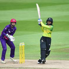 Mandhana shines again as Indian cricketers have mixed start to 2019 Women's Cricket Super League