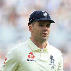 Another injury blow for England as James Anderson ruled out of South Africa series with rib injury