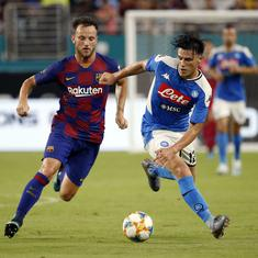 Transfer wrap: Barcelona midfielder Rakitic rejoins Sevilla, Mkhitaryan makes Roma move permanent