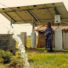 Eco India: Farmers in West Bengal have switched to solar-based pumps to become 'water enterpreneurs'