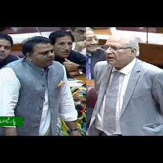 Watch: Altercation erupts in Pakistan Parliament during session on India's Kashmir move