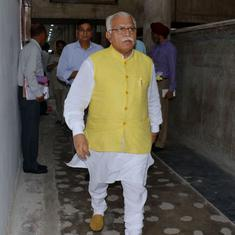Haryana elections: Chief minister compares Sonia Gandhi with dead mouse, Congress demands apology