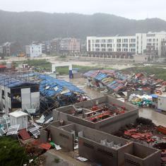 China: 18 dead, millions evacuated as typhoon Lekima makes landfall