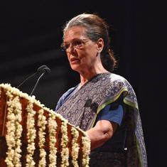 Sonia Gandhi named interim Congress president after Rahul Gandhi refuses post again