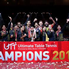 Ultimate Table Tennis: Chennai Lions dominate Delhi Dabang to win title in third season