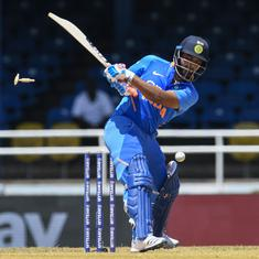 Second ODI: Pant receives Kohli's backing as India's No 4 – now he needs to make his chances count