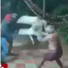 Watch: Brave elderly couple fight off sickle-wielding robbers in Tamil Nadu