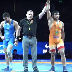 Wrestling: Deepak Punia ends India's 18-year wait for a gold medallist at Junior World Championships