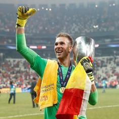 A proper personality in the dressing room: Klopp hails keeper Adrian after Liverpool's Super Cup win