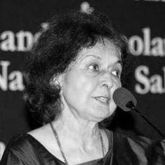 What Nayantara Sahgal was not allowed to say at Marathi literary meet