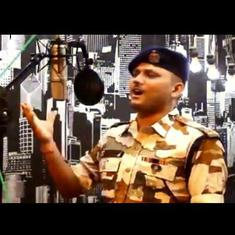 Watch: ITBP made a music video out of this constable's version of the famous song from 'Border'