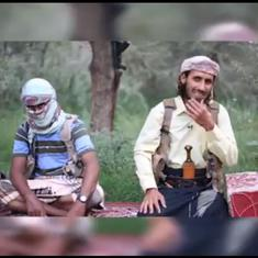 Watch: Loud bird interrupts militant in an Islamic State propaganda video with hilarious results