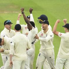Second Ashes Test: Australia suffer top-order collapse before rain cut shorts play on day three