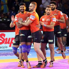 Pro Kabaddi 2019: U Mumba win thriller against Patna Pirates; Jaipur Pink Panthers go top with win
