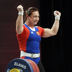 Seven more Russian weightlifters provisionally suspended based on McLaren report findings