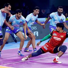 Pro Kabaddi: Bengaluru Bulls move to second spot in table; Bengal, Delhi play out thrilling draw