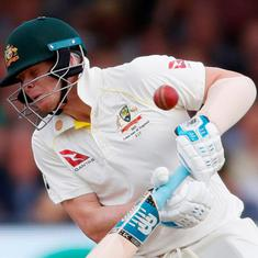 Steve Smith thought of late teammate Phillip Hughes after getting hit on the neck in Ashes Test