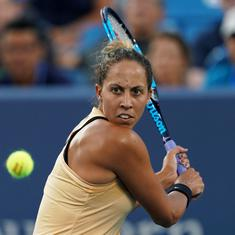 Madison Keys beats Kenin to set up Cincinnati final with resurgent Svetlana Kuznetsova