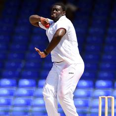 Shamarh Brooks, Cornwall put West Indies in command against Afghanistan in one-off Test