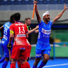 Hockey: Mandeep, Akashdeep score as Indian men's team start off Belgium tour with 2-0 win