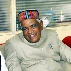 Former Madhya Pradesh CM Babulal Gaur dies at 89