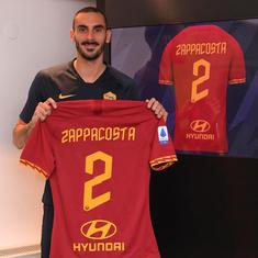 Football: Chelsea defender Davide Zappacosta moves to AS Roma on loan