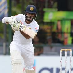 Second Test: Sri Lanka get to 85/2 against New Zealand on rain-hit opening day