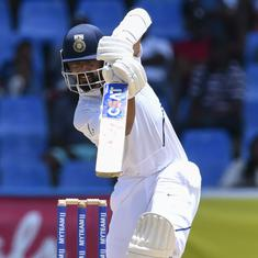 Ranji Trophy wrap: Karnataka in command against Mumbai as Rahane fails again, Services close to win