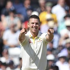 I can't remember a day like this: Hazlewood after taking fifer as Australia bowl England out for 67