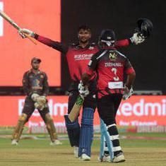 K Gowtham breaks T20 records with 39-ball ton and eight-wicket haul in same KPL match
