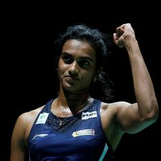 BWF World C'ships: PV Sindhu dominates Chen Yufei to reach third final, Sai Praneeth bags bronze