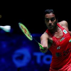 This is the first time I've not seen a badminton court for over three weeks: PV Sindhu