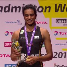 PV Sindhu becomes first Indian Badminton World C'ships gold medallist with emphatic win over Okuhara