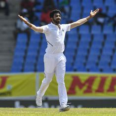Jamaica Test: Jasprit Bumrah becomes third Indian to take a Test match hat-trick