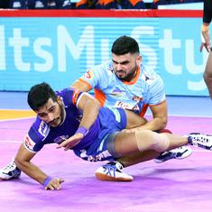 Pro Kabaddi 2019: Vikas Khandola helps Haryana Steelers shock Bengal Warriors; UP see off Pune